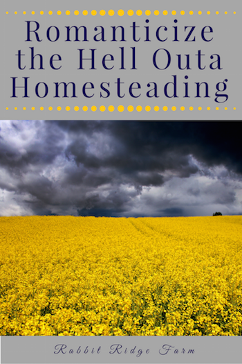 Romanticize the Hell Outa Homesteading