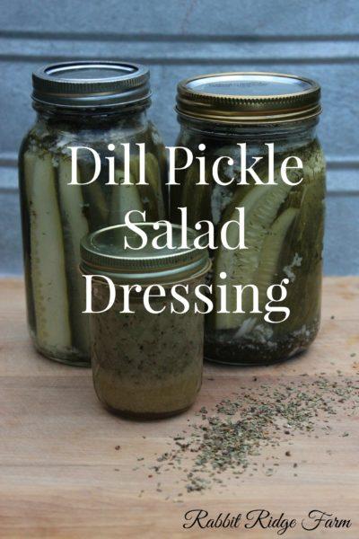 Dill Pickle Salad Dressing (Sugar-free & Vegan!)